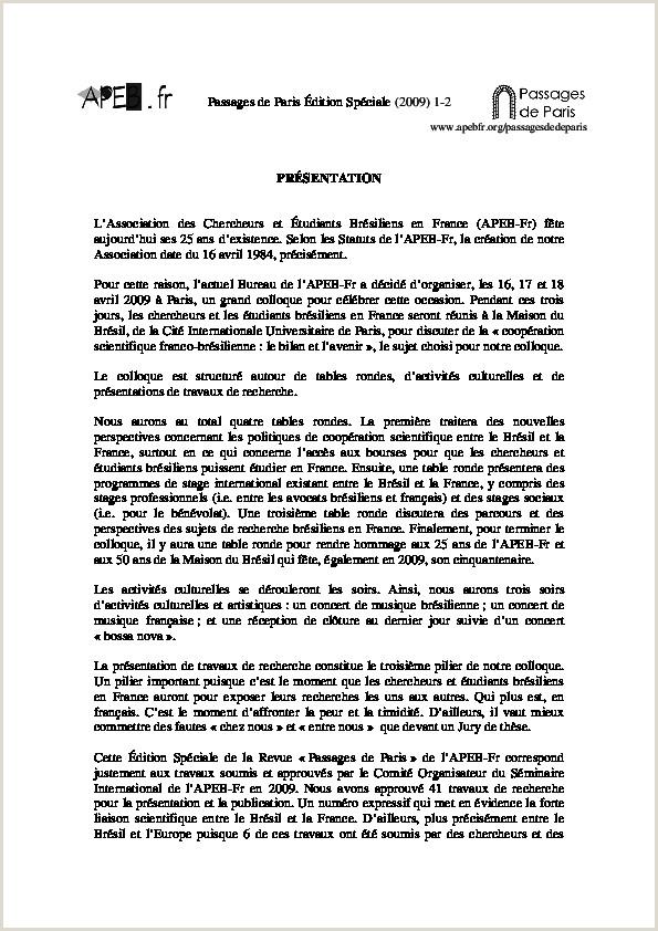 PDF Passages de Paris N 4 2009 édition Spéciale Revue
