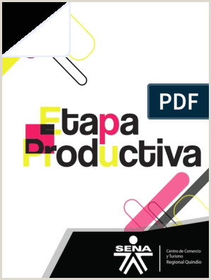 Formato Hoja De Vida Aprendiz Sena Etapa Productiva Sena Correo