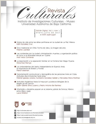 Formato Hoja De Vida Bailarin Culturales Vol 5 Nºm 1 Enero Junio 2017 [versi³n