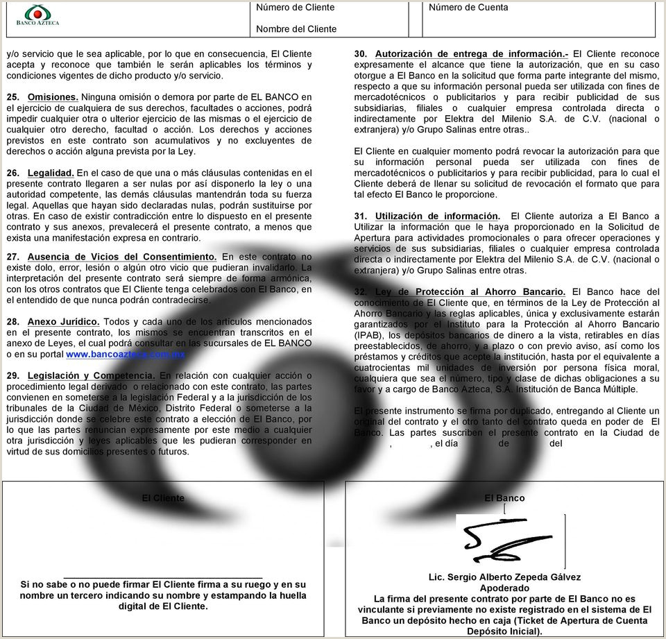 Nºmero de Cliente Nombre del Cliente PDF