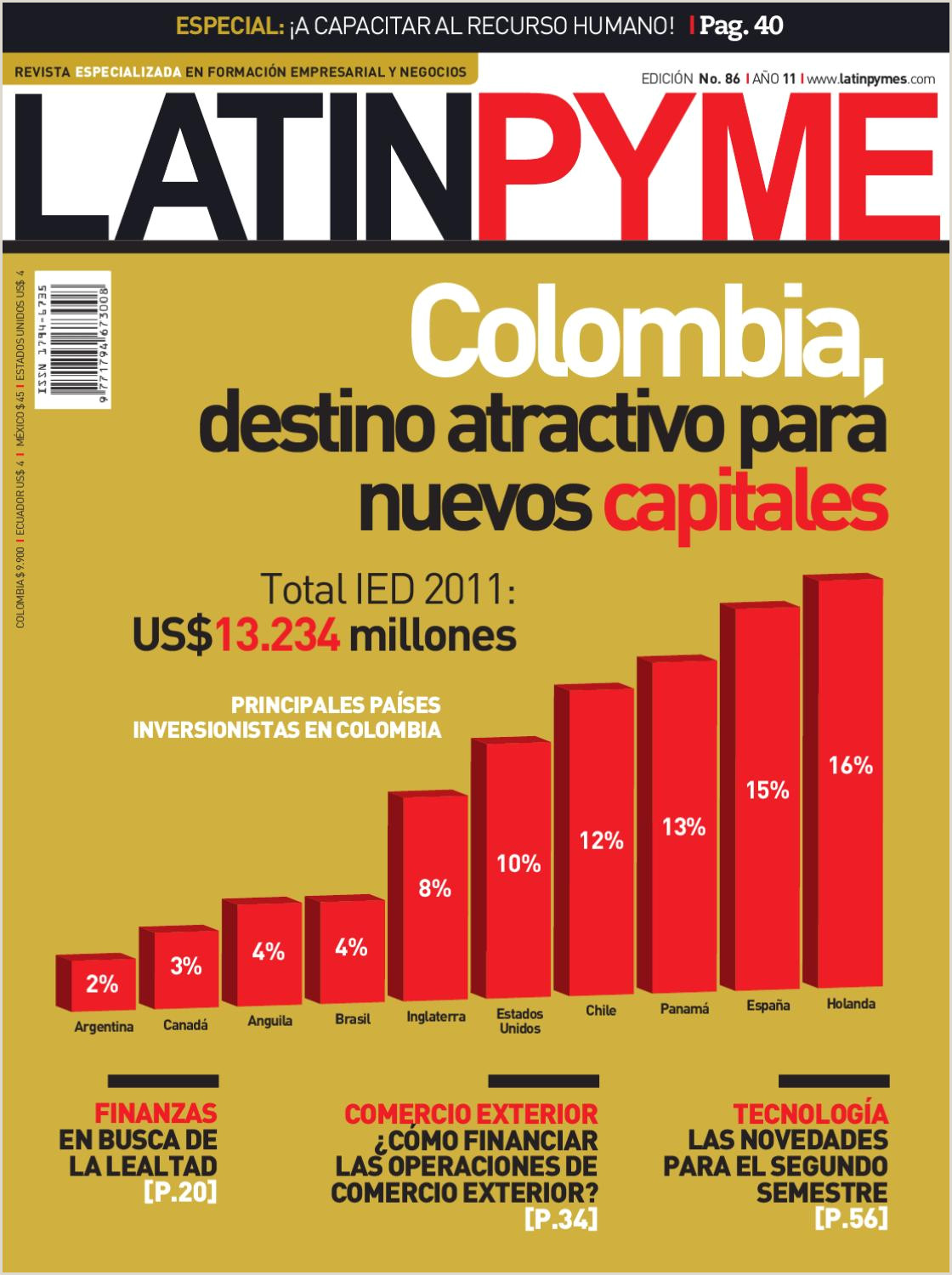 Revista Latinpyme Nº86 by LATINPYME issuu