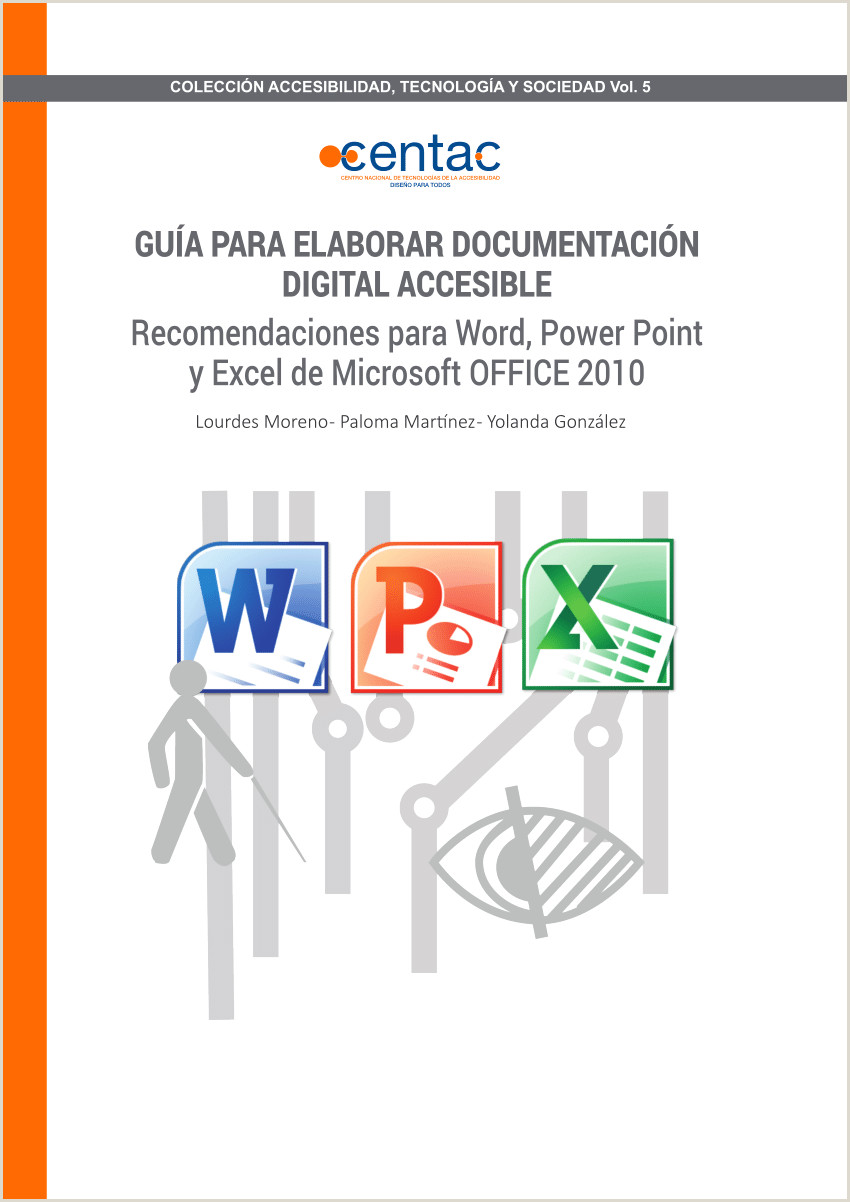 PDF Gua para elaborar Documentaci³n Digital Accesible