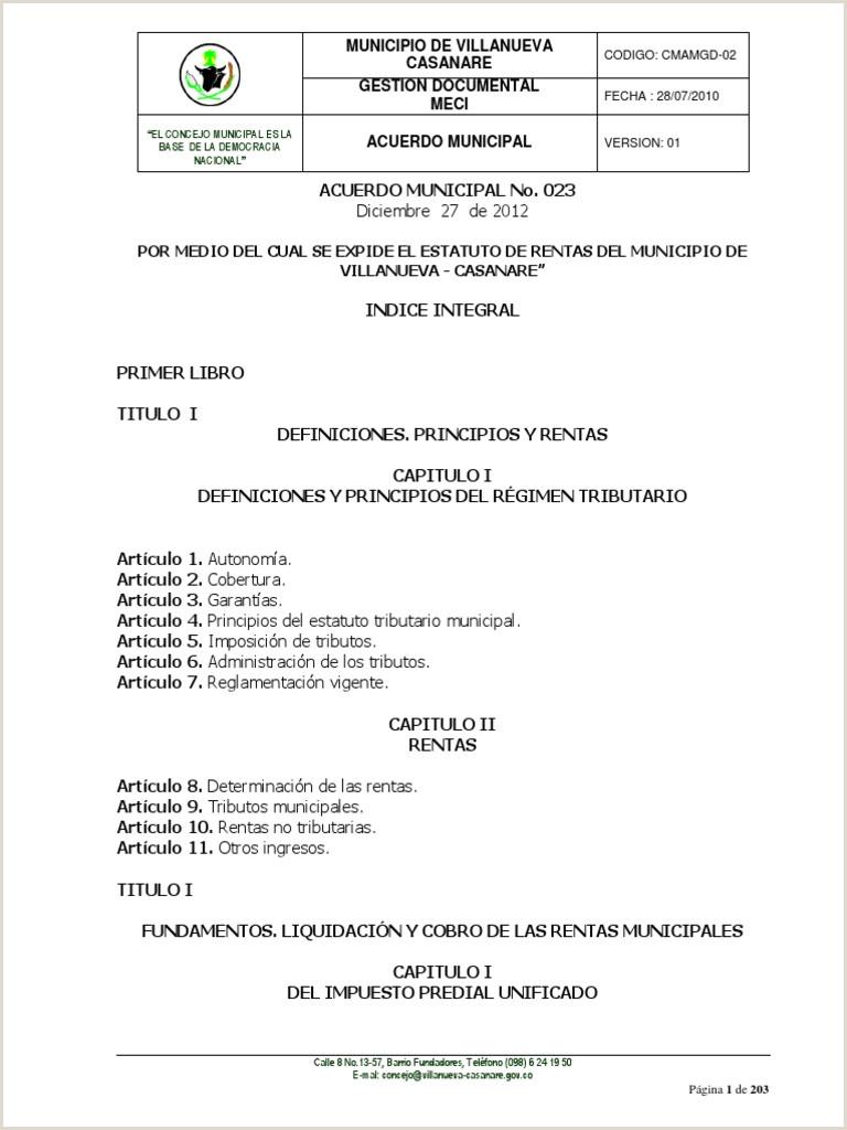 Estatuto de Rentas 2013
