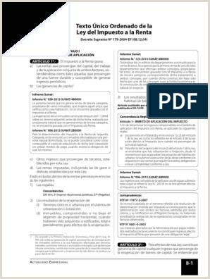 Formato Hoja De Vida Bienes Y Rentas Ley 190 Tuo Y Reglamento De La Ley De Impuesto A La Renta 2016 Pdf