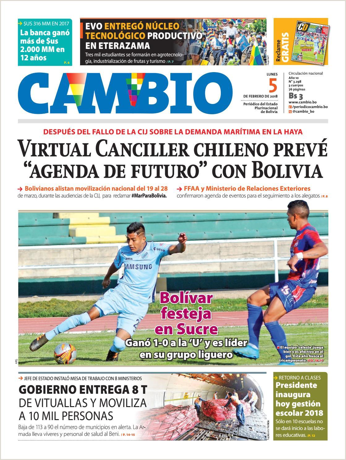 Formato Hoja De Vida Bolivia Edicion 5 02 18 by Cambio Peri³dico Del Estado