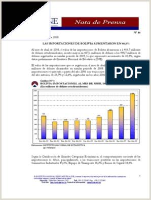 Las Importaciones de Bolivia Aumentaron en 40
