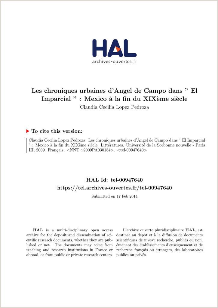 """Les chroniques urbaines d Angel de Campo dans """" El Hal SHS"""