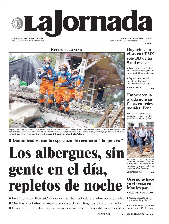 Formato Hoja De Vida Brigadista La Jornada 09 25 2017 by La Jornada issuu