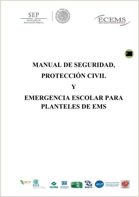 """Formato Hoja De Vida Brigadista Manual De Seguridad Protecci""""n Civil Y Emergencia Escolar"""