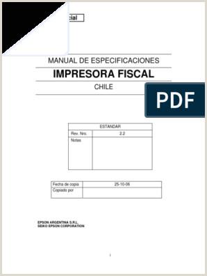 Chile Fiscalprinter Spec Firmware 2 2 Hacia Abajo