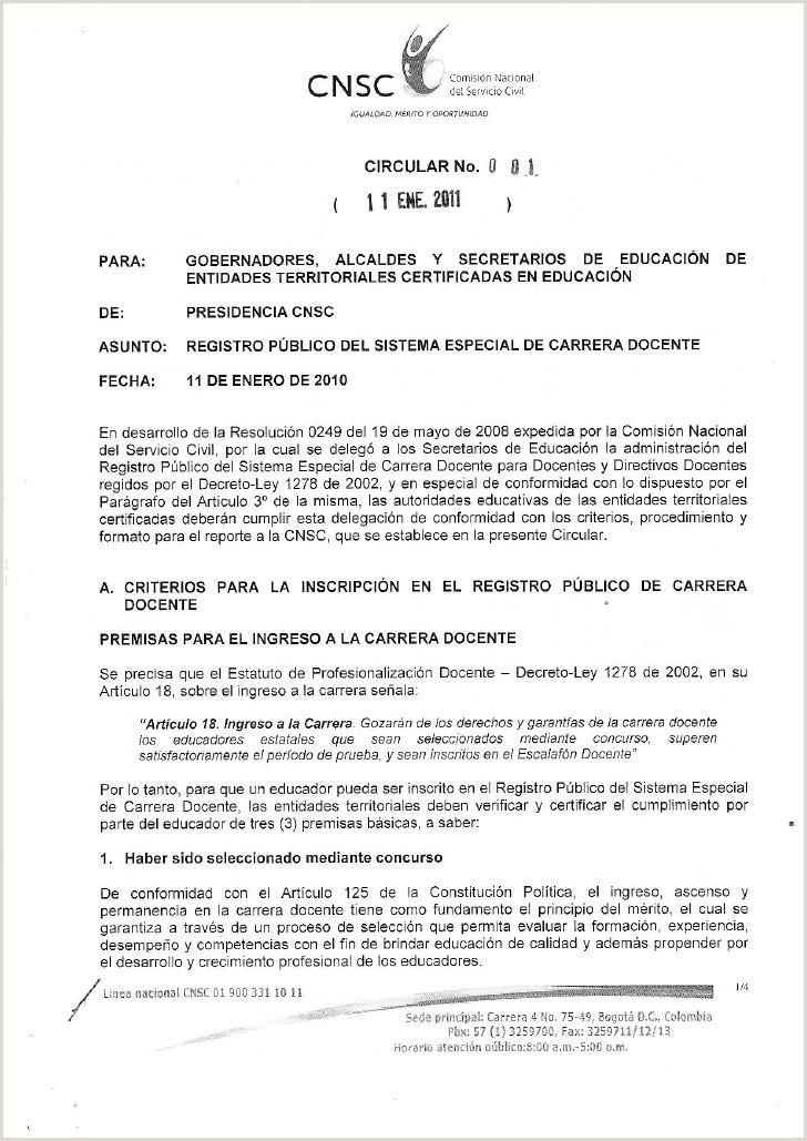 Formato Hoja De Vida Cnsc 2011 01 11 Circular 001cnsc Registropublicodecarreradocente