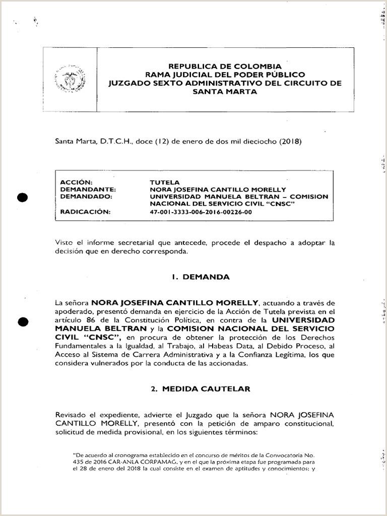 Nora Josefina Cantillo Morelli