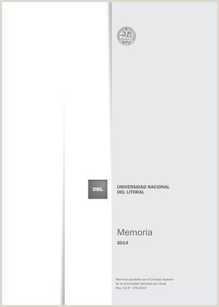 Memoria institucional 2014 by Universidad Nacional del