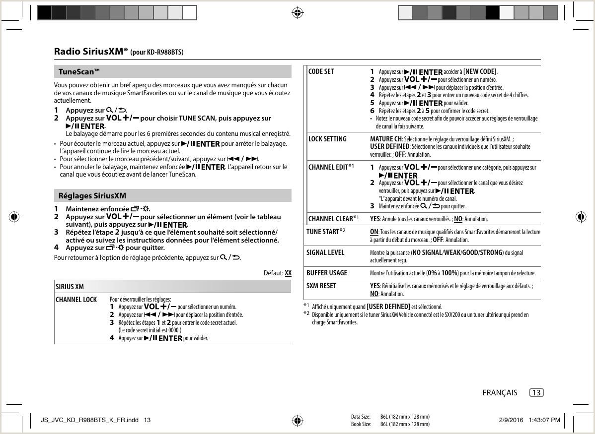 Formato Hoja De Vida Compensar Jvc Kd R888bt R988bts Kd R888bt K User Manual B5a 1351 00