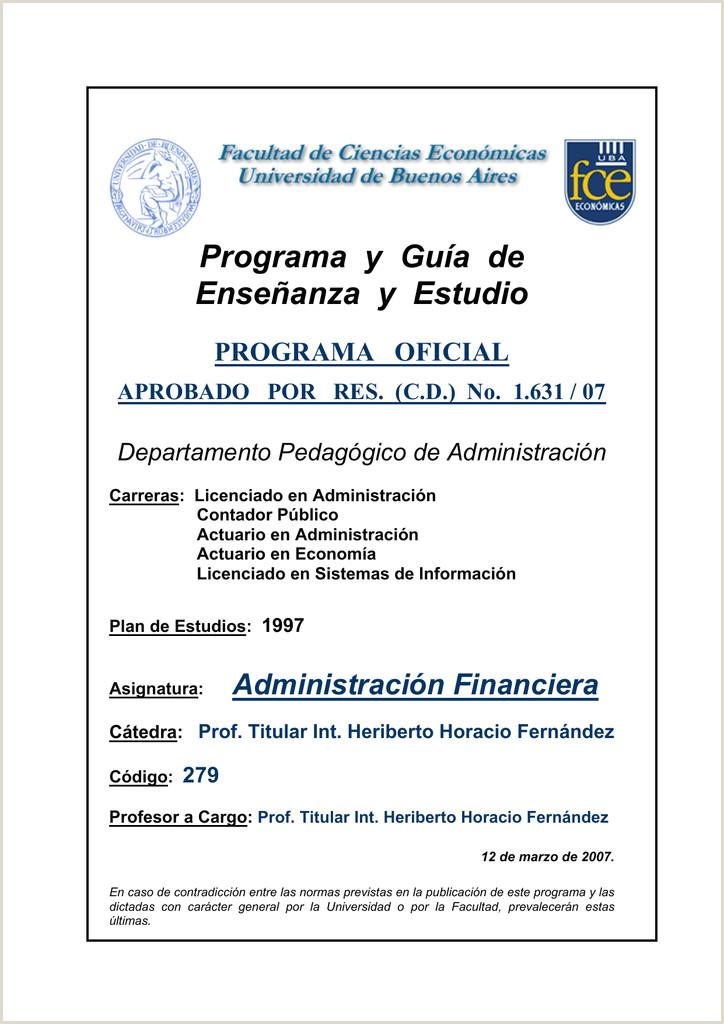 Formato Hoja De Vida Contador Publico Programa Administraci³n Financiera Cátedra Heriberto H