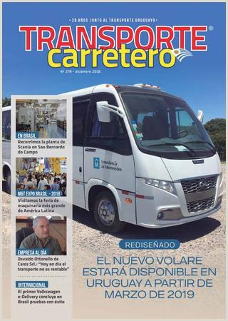 Transporte Carretero Nº 278 Diciembre 2018 by Dise±o