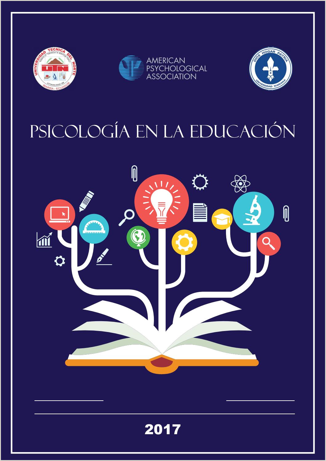 Memorias del congreso de Psicologia en la Educaci³n 2017 by
