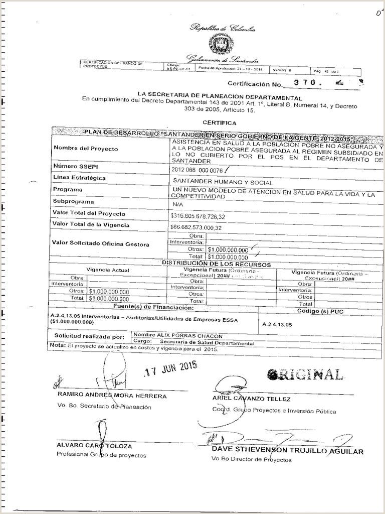Formato Hoja De Vida Del Sigep 2015 0 Pdf Proceso Contractual Salud