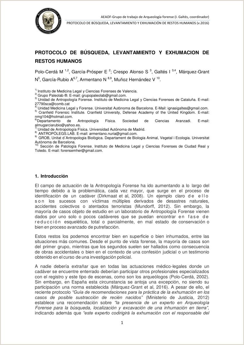 PDF Protocolo de bºsqueda levantamiento y exhumaci³n de