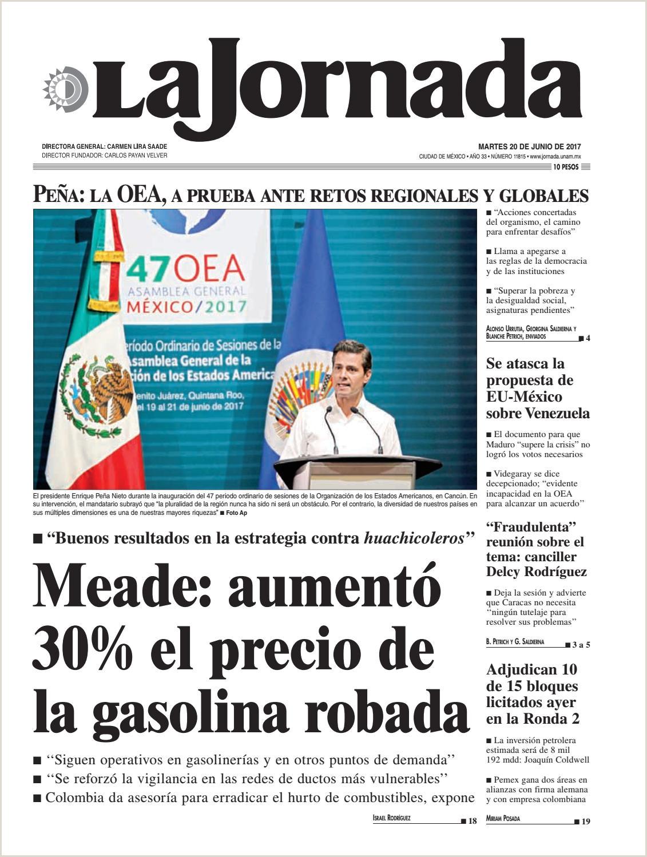 La Jornada 06 20 2017 by La Jornada issuu