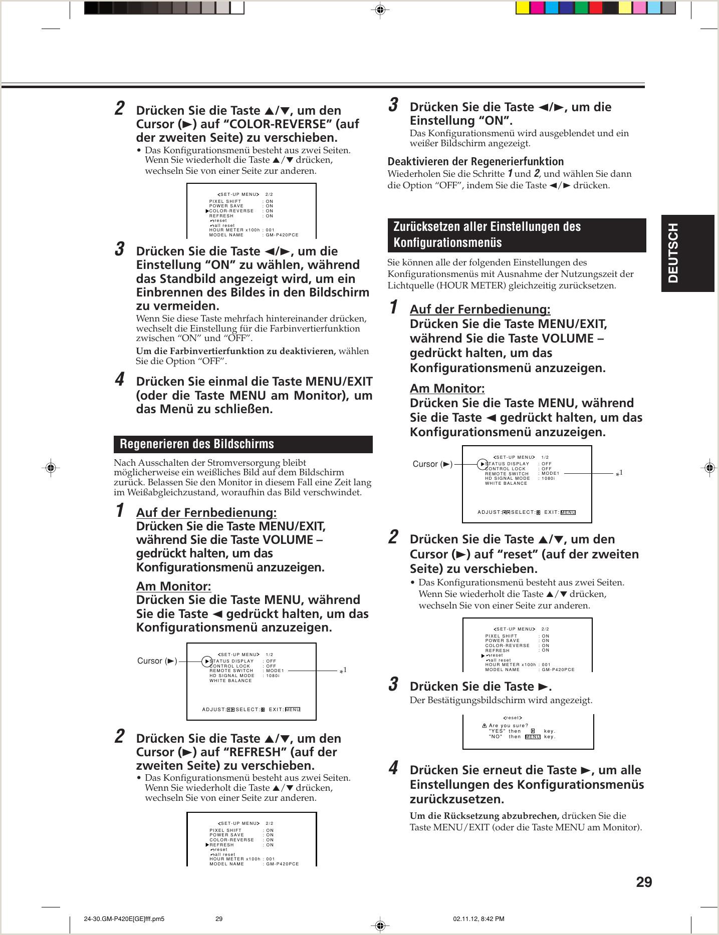 Formato Hoja De Vida En Power Point Jvc Gm P420pce P420e 420pce 421pce User Manual P420pce