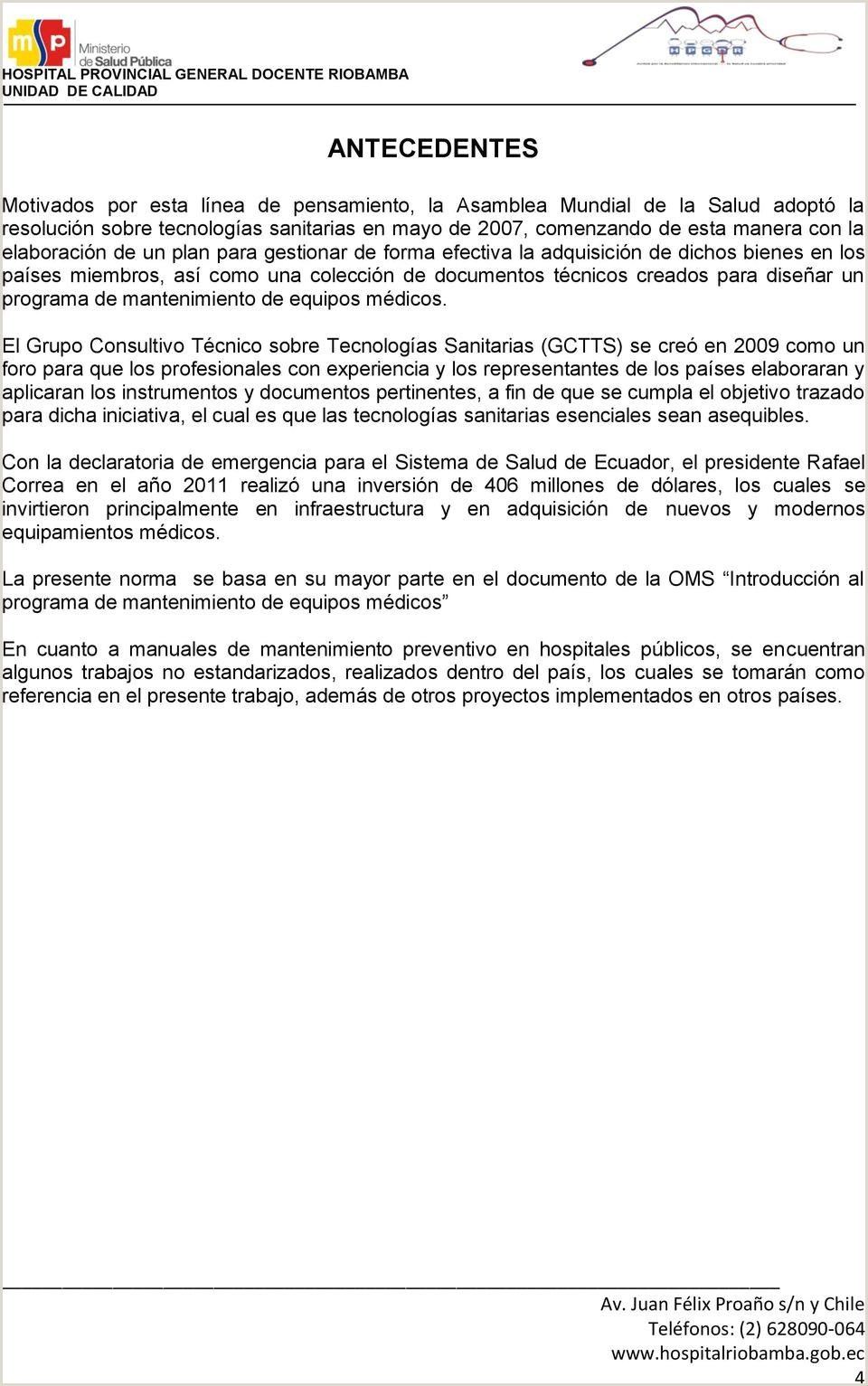 Formato Hoja De Vida Equipos Biomedicos Minsalud Práctica organizacional Requerida norma Programa De