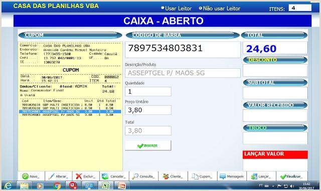 Formato Hoja De Vida Excel Sistema Frontal De Caja Pdv En Excel Blog Luz