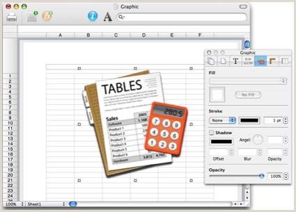 Tables un nuevo Excel para Mac