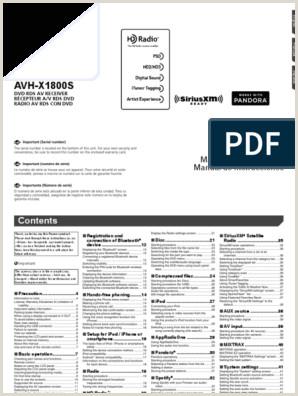 Formato Hoja De Vida Filetype Doc Avhx5800bhs Pdf
