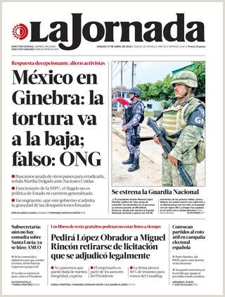 La Jornada 04 27 2019 by La Jornada issuu