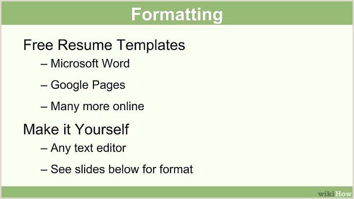 Formato Hoja De Vida Funcion Publica Editable 3 formas De Escribir Un Currculum Para Ser Ni±era
