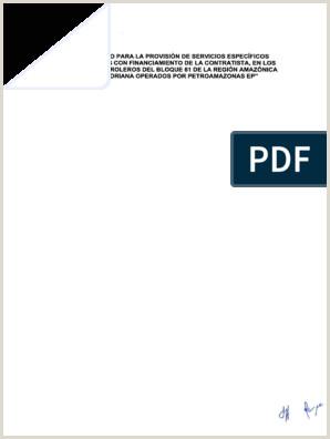 Formato Hoja De Vida Funcion Publica Editable Contrato Provisi³n Servicios Especficos Shaya Ecuador S A