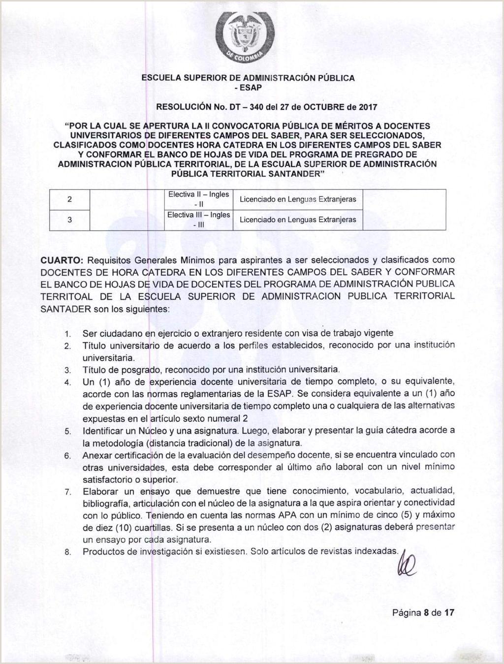 """Formato Hoja De Vida Funcion Publica Para Diligenciar Escuela Superior De Administraci""""n Pšblica Esap"""