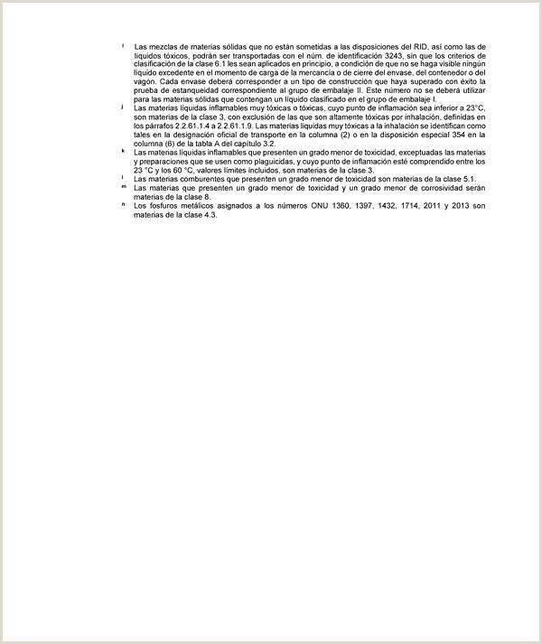 Enmiendas al Reglamento relativo al transporte internacional