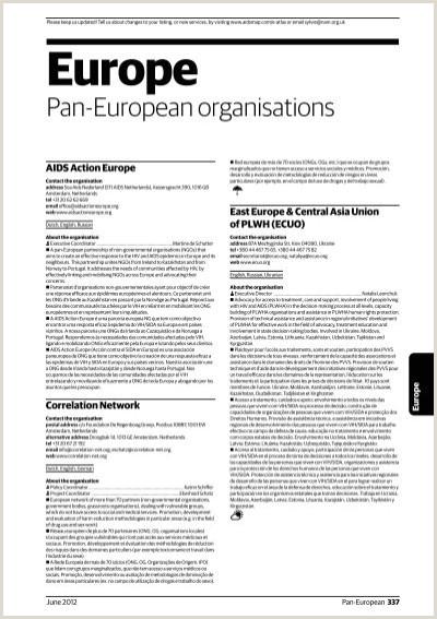 Formato Hoja De Vida Giz Europe Aidsmap