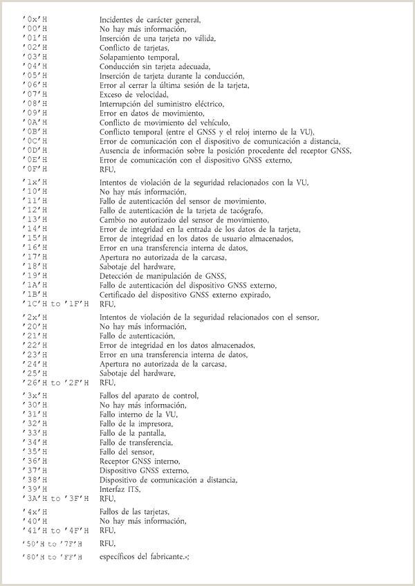 Formato Hoja De Vida Gratis 2018 Reglamento De Ejecuci³n Ue 2016 799 De La isi³n De 18