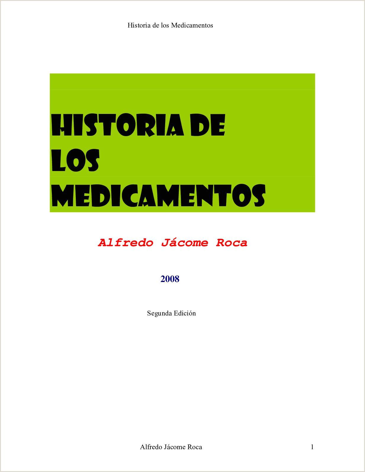 Calaméo Historia De Los Medicamentos Revista Alfredo