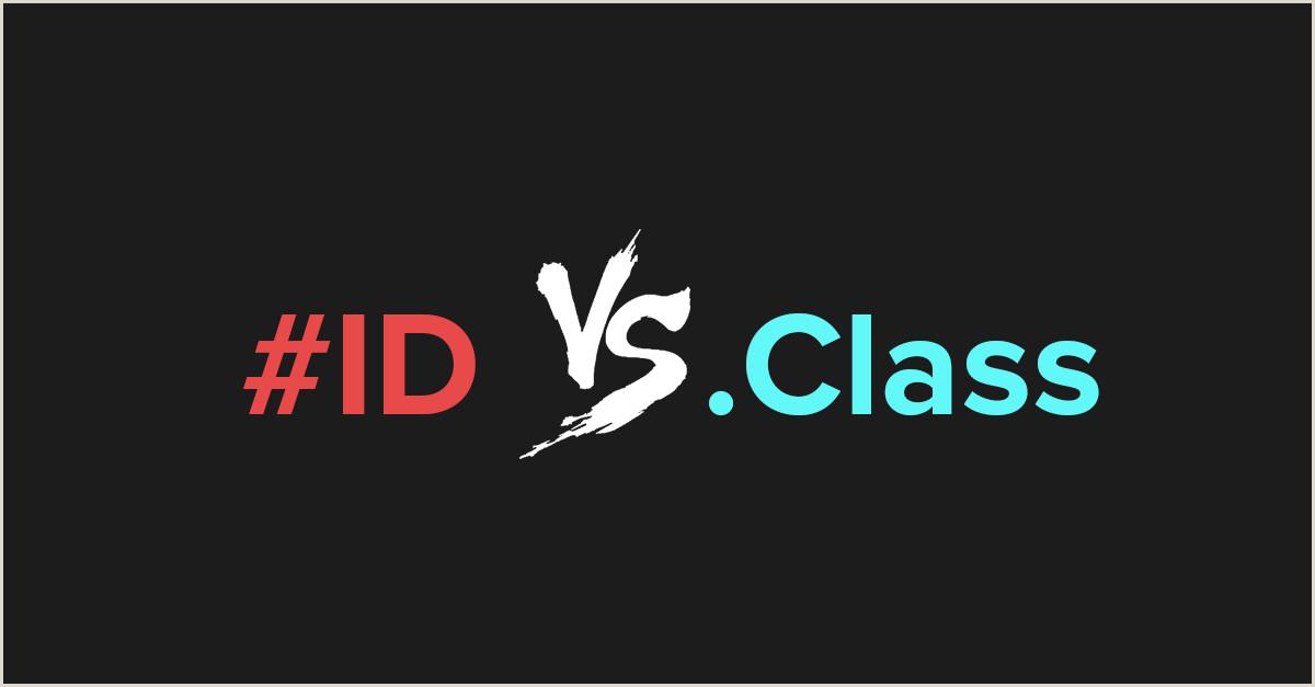 Formato Hoja De Vida HTML Diferencias Entre El Selector Class Y El Selector Id