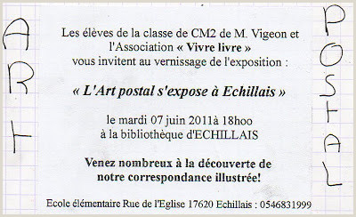 Formato Hoja De Vida HTML Insomnies Et Art Postal Recus De Jean Francois Vigeon Et