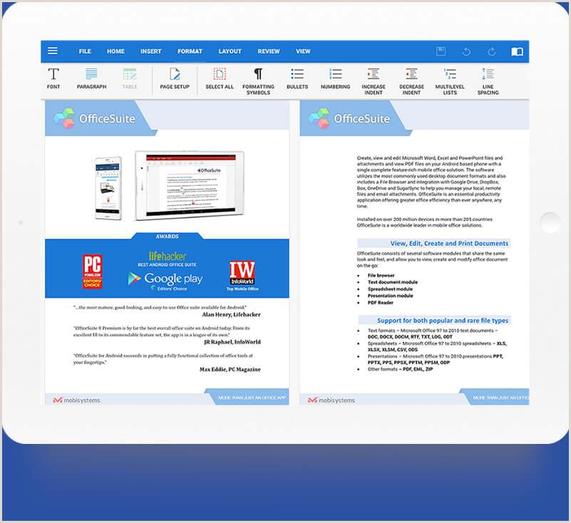 Formato Hoja De Vida HTML Las 13 Mejores Suites De Imática Para Emprendedores Y