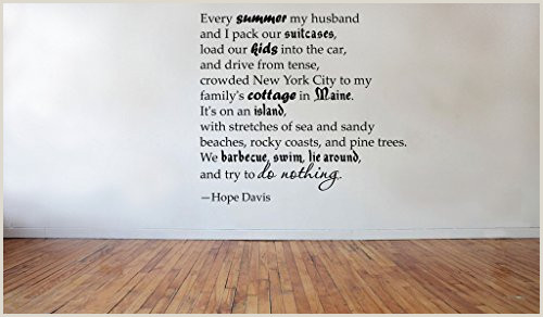 Formato Hoja De Vida Hus Blinggo Every Summer My Hope Davis Removable Vinyl Wall Decal Home Dicor