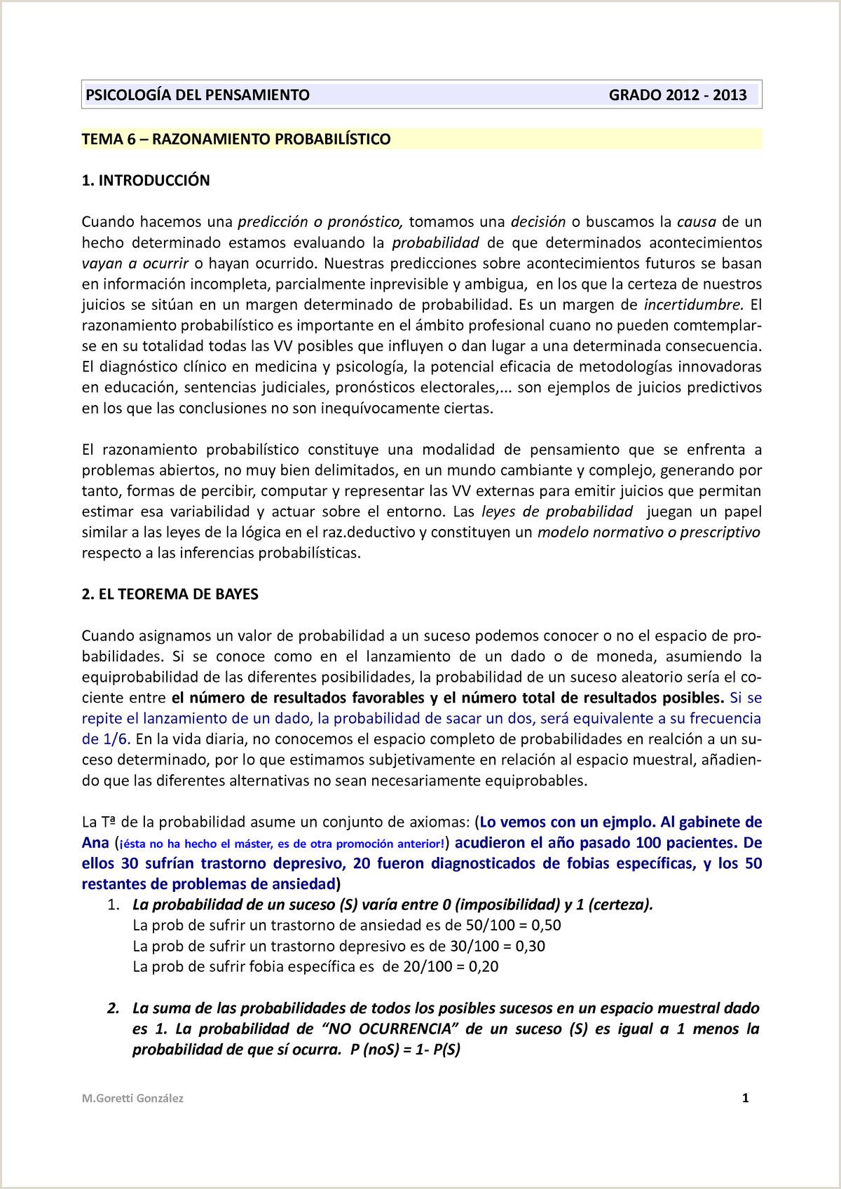 Tema 6 razonamiento probabilistico UNED StuDocu