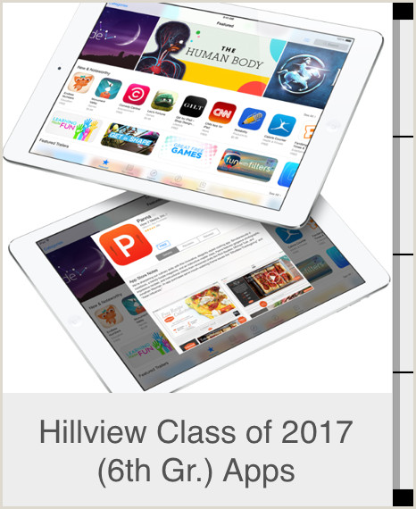 Hillview Class of 2017 6th Gr Apps Curso gratuito de Menlo Park City School District en iTunes U