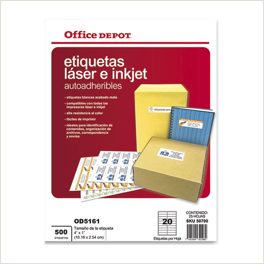 Formato Hoja De Vida Impresora Etiquetas Para Impresion Od 5161 500 Pzs