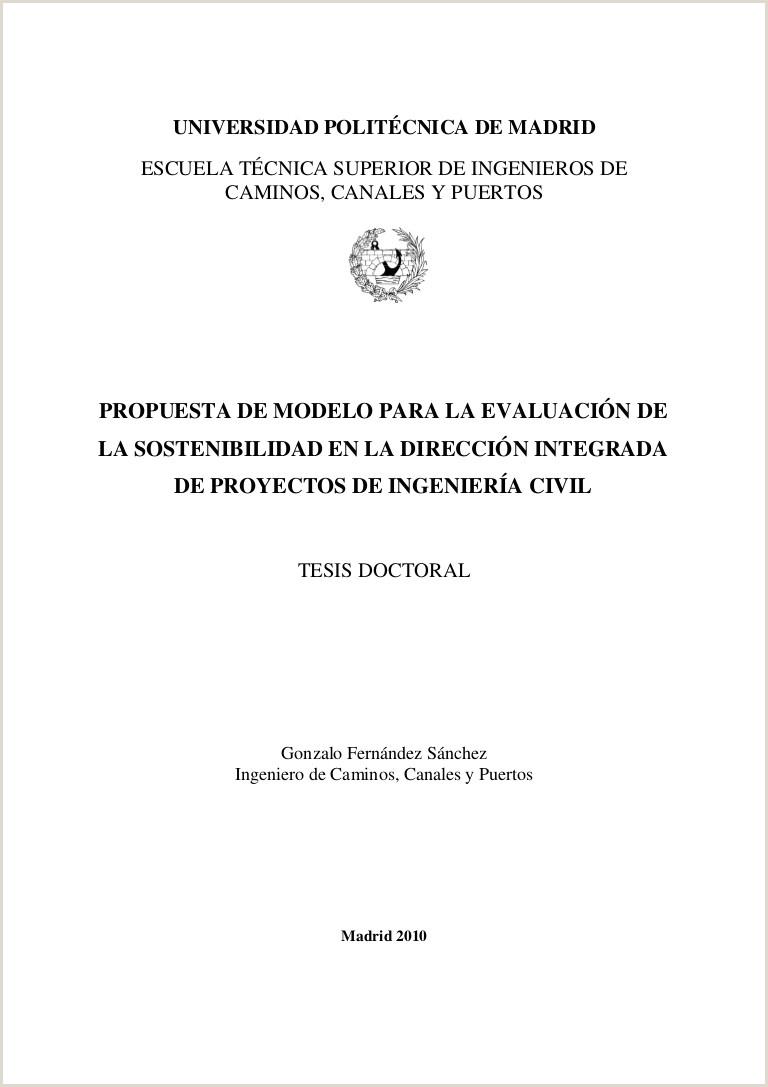 Formato Hoja De Vida Ingeniero Civil Tesis Evaluacion Proyectos Ing Civil