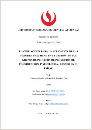Formato Hoja De Vida Ingeniero Mecanico Plan De Acci³n Para La Aplicaci³n De Las Mejores Prácticas