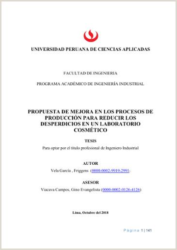 Formato Hoja De Vida Ingeniero Mecanico Propuesta De Mejora En Los Procesos De Producci³n Para