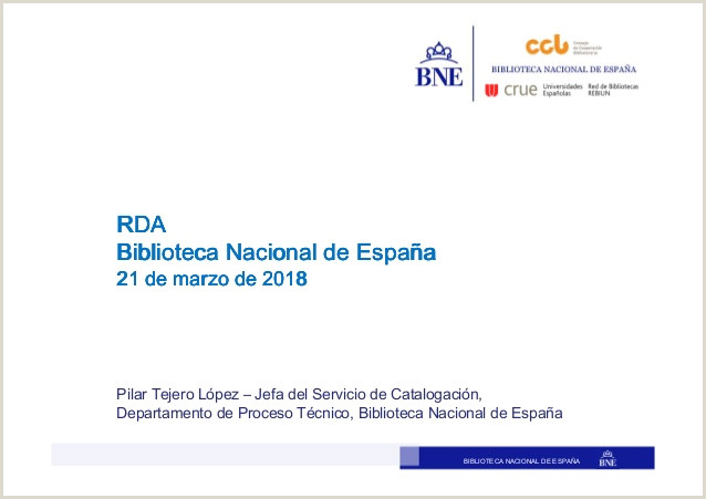 RDA Pilar Tejero L³pez