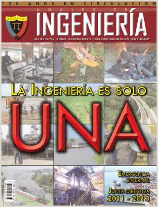 Revista Anales de Ingenieria ed 916 by SOCIEDAD COLOMBIANA
