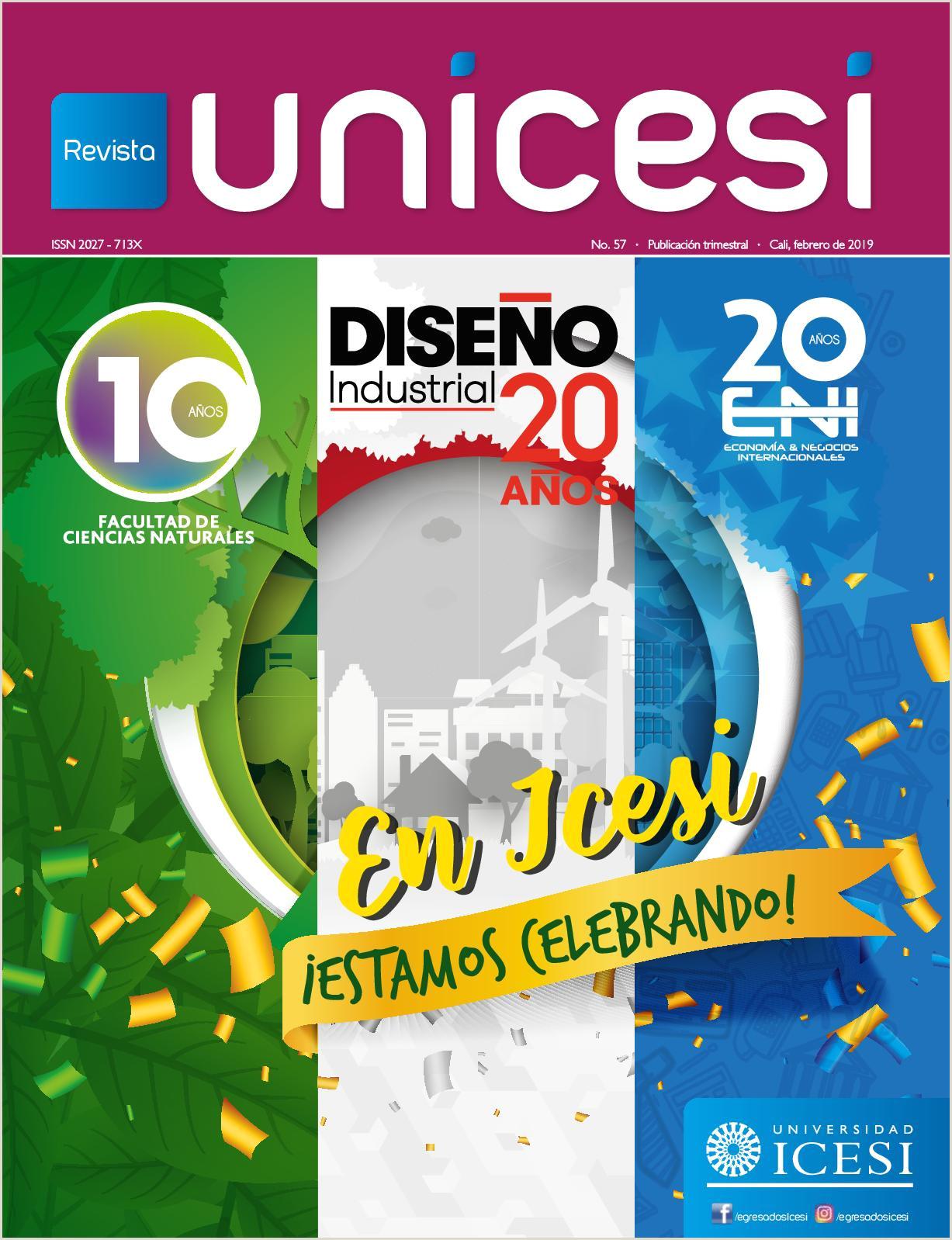 Calaméo 57 Revista Unicesi